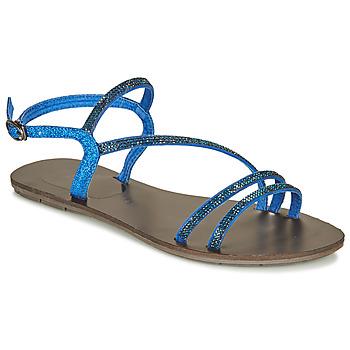 Čevlji  Ženske Sandali & Odprti čevlji LPB Shoes NELLY Modra