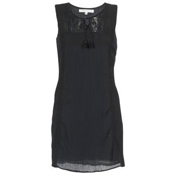 Oblačila Ženske Kratke obleke Banana Moon ELEANOR MAKENNA Črna