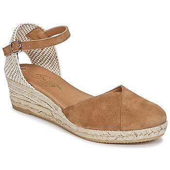 Čevlji  Ženske Sandali & Odprti čevlji Betty London INONO Kamel
