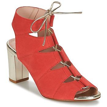 Čevlji  Ženske Sandali & Odprti čevlji Betty London INALU Rdeča