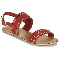 Čevlji  Ženske Sandali & Odprti čevlji Betty London IKARI Rdeča
