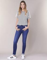 Oblačila Ženske Jeans skinny Pepe jeans REGENT Modra / Ce2 / Cristal / Swarorsky