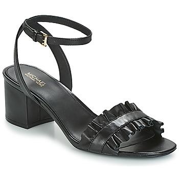 Čevlji  Ženske Sandali & Odprti čevlji MICHAEL Michael Kors BELLA FLEX MID Črna