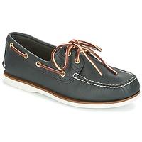 Čevlji  Moški Mokasini & Jadralni čevlji Timberland CLASSIC 2 EYE Modra