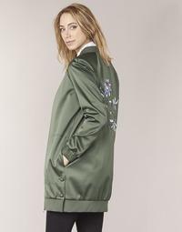 Oblačila Ženske Jakne Tommy Hilfiger MABEL-LONG-BOMBER Kaki