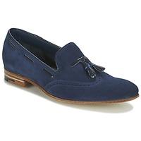Čevlji  Moški Mokasini Barker RAY Modra