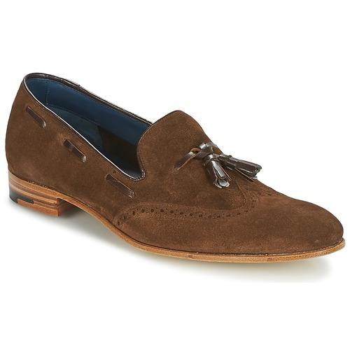 Čevlji  Moški Mokasini Barker RAY Kostanjeva