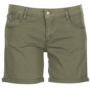 Oblačila Ženske Kratke hlače & Bermuda Le Temps des Cerises RAIPORT Khaki