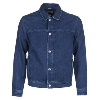 Oblačila Moški Jeans jakne Tommy Jeans TJM STREET TRUCKER JKT Modra
