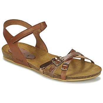Čevlji  Deklice Sandali & Odprti čevlji Kickers BONAVISTA Kamel