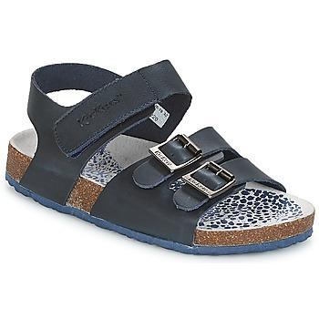 Čevlji  Dečki Sandali & Odprti čevlji Kickers MAGINATION Modra