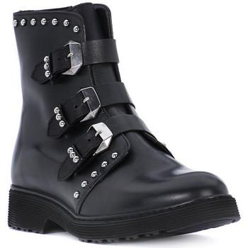 Čevlji  Deklice Gležnjarji Cult ROSE BLACK Nero