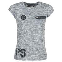 Oblačila Ženske Majice s kratkimi rokavi Philipp Plein Sport SITTIN OVER HERE Siva