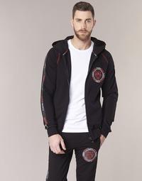 Oblačila Moški Puloverji Philipp Plein Sport FLY HIGH Črna