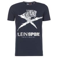 Oblačila Moški Majice s kratkimi rokavi Philipp Plein Sport BORIS Srebrna