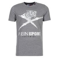 Oblačila Moški Majice s kratkimi rokavi Philipp Plein Sport BORIS Siva / Srebrna
