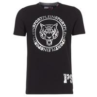 Oblačila Moški Majice s kratkimi rokavi Philipp Plein Sport IVAN Črna / Srebrna