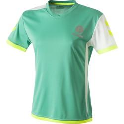 Oblačila Ženske Majice s kratkimi rokavi Hummel Maillot Femme  Trophy vert/blanc
