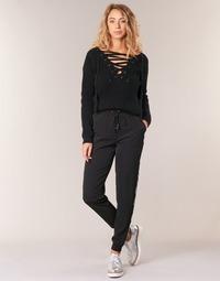 Oblačila Ženske Lahkotne hlače & Harem hlače Kaporal SOFI Črna