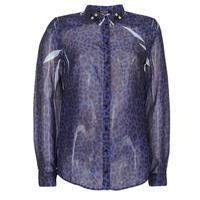 Oblačila Ženske Srajce & Bluze Guess BORICE Modra