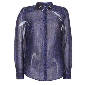 Oblačila Ženske Srajce & Bluze Guess BORICE Niebieski