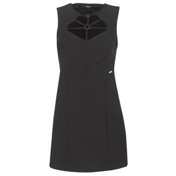 Oblačila Ženske Kratke obleke Guess SLOREPA Črna