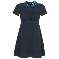 Oblačila Ženske Kratke obleke Manoush COMMUNION Modra