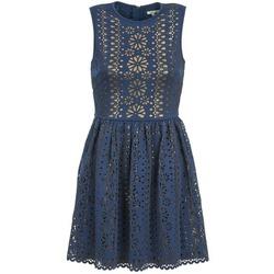 Oblačila Ženske Kratke obleke Manoush NEOPRENE Modra / Zlata
