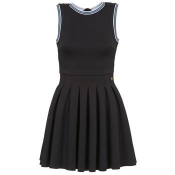 Oblačila Ženske Kratke obleke Manoush ATHLETE Črna