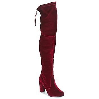 Čevlji  Ženske Visoki škornji Buffalo  Rdeča