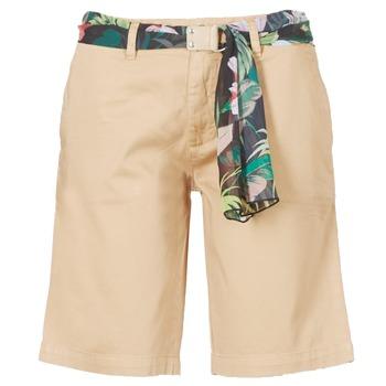 Oblačila Ženske Kratke hlače & Bermuda Guess BENARIO Béžová
