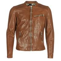 Oblačila Moški Usnjene jakne & Sintetične jakne Redskins CROSS Cognac