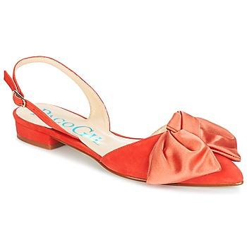 Čevlji  Ženske Sandali & Odprti čevlji Paco Gil MARIE TOFLEX Rdeča