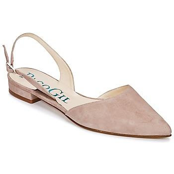Čevlji  Ženske Sandali & Odprti čevlji Paco Gil MARIE TOFLEX Nude