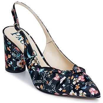 Čevlji  Ženske Sandali & Odprti čevlji Paco Gil CLAIRE TOFLEX Črna