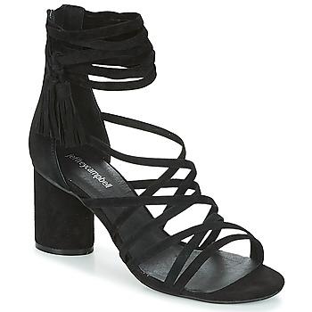 Čevlji  Ženske Sandali & Odprti čevlji Jeffrey Campbell DESPINA Črna