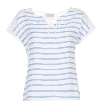 Oblačila Ženske Topi & Bluze Casual Attitude IYUREOL Bela / Modra