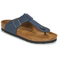 Čevlji  Moški Japonke Birkenstock MEDINA Modra