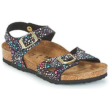 Čevlji  Deklice Sandali & Odprti čevlji Birkenstock RIO Črna