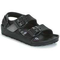 Čevlji  Dečki Sandali & Odprti čevlji Birkenstock MILANO-EVA Črna