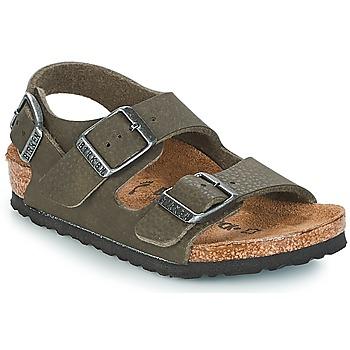 Čevlji  Dečki Sandali & Odprti čevlji Birkenstock MILANO Zelena