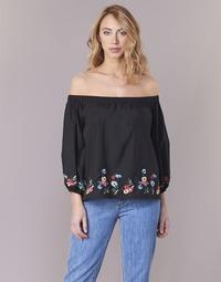Oblačila Ženske Topi & Bluze Moony Mood IFITI Črna