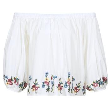 Oblačila Ženske Topi & Bluze Moony Mood IFITI Bela