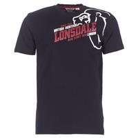 Oblačila Moški Majice s kratkimi rokavi Lonsdale WALKLEY Črna