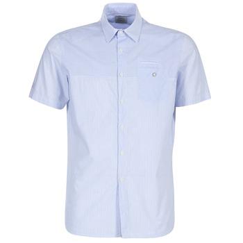 Oblačila Moški Srajce s kratkimi rokavi Oxbow K1CAMINO Modra / Nebeško modra
