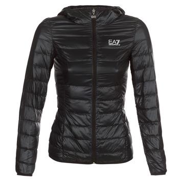 Oblačila Ženske Puhovke Emporio Armani EA7 TRAIN CORE LADY Črna