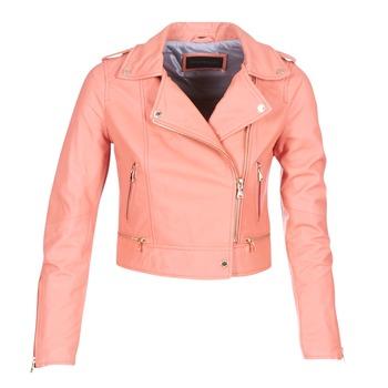 Oblačila Ženske Usnjene jakne & Sintetične jakne Oakwood YOKO Koralna