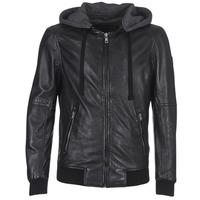 Oblačila Moški Usnjene jakne & Sintetične jakne Oakwood JIMMY Črna
