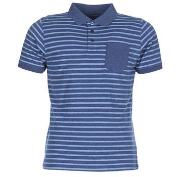Oblačila Moški Polo majice kratki rokavi Casual Attitude INUTIOLE Modra / Bela
