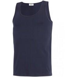 Oblačila Moški Majice brez rokavov Impetus GO30024 039 Modra